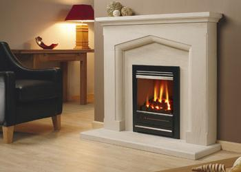 Vitesse Glass Fronted Inset Gas Fire
